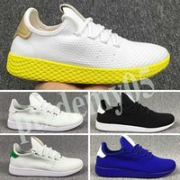 Adidas Tennis HU Verão Reflective estática PW Pharrell Williams x Stan Smith Tennis Hu Primeknit superior Homens Mulheres respirável Jogging Running Shoes EUR p05