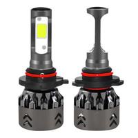 Mini6-HB4 / 9006 LED phare de voiture Ampoule 60W IP68 6000K 6000 Lumens extrêmement lumineux Chips Kit de conversion