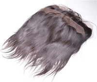 Straight 13*4 Lace Frontals Medium Brown Color Lace Frontals...