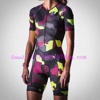 kadın skinsuit triatlon ropa ciclismo tulum cilt takım bisiklet wattie mürekkep özel giyim kadın gövde kiti 9d jel pedi speedsuit