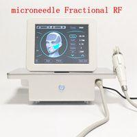 Microneedle portatile Microneedle Frazional RF Machine 10/25/64 / Nano Cartridge Tips Micro Ago Derma Stamp Cura della pelle Attrezzature di bellezza Anti ACNE Smagliature Smagliature Shrink Pori