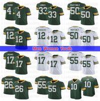 Erkekler Kadınlar Gençlik Futbolu 12 Aaron Rodgers Jones Davante Adams Smith Blake Martinez Alexander Savage Jr Love Jersey