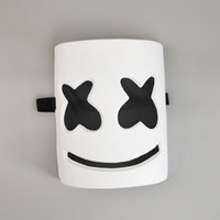 DJ marshmello mask cartoon Halloween Cosplay Mask Bar Music ...
