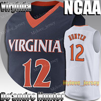 NCAA 12 Deandre Hunter Jersey Virginia University 21 Rui Hachimura 1 Sião Williamson 5 RJ Barrett 23 Jarrett Culver Jerseys