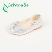 Bekamille Children shoes 2018 Spring Autumn Girls leather Sh...