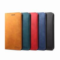 Nouveau iPhone 12 12Pro 12Proxax 12Mini PU en cuir simple Portefeuille de style Portefeuille avec porte-carte pour iPhone 11 7 8 x Couverture multifonction