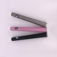Toptan yeni 3-Grade Gerilim Ayarlanabilir Özel 510 Kalın Yağ Vape Kalem Pil AB1004 Ince Ön Isıtma e-sigara Pil PK LO Mix2 Kalemler