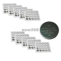 시계, 계산기, 플래쉬 등을위한 Freeshipping 200pcs CR2450 3V 600mAh 리튬 단추 코인 배터리
