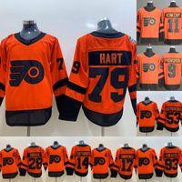 2019 Stade Series Jerseys Philadelphia Flyers 14 Sean Couturier 79 Carter Hart 28 Claude Giroux 93 Jakub Voracek 9 Ivan Provorov Maillots