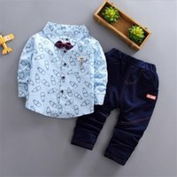 good quality boys clothing set autumn cotton 2019 children c...