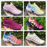 whitered 2018 عالية الجودة بالجملة قوس قزح كامل اسود TN المرأة تشغيل الرياضة الأحذية حذاء عارضة أحذية نسائية حجم 36-40