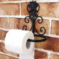 Guardanapos atacado- continental ferro decorativo banheiro de parede tosseiros de parede, papel higiênico papel toalha titular preço de fábrica especialista designa mais recente