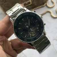 Fashion business automatic mechanical men's  watch elegant  men's wrist watch 42mm life waterproof steel strap bow