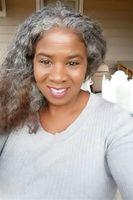Real cabelo cinzento cinzento extensão de cabelo afro cinza penteie natural salas sal e pimenta cabelo humano rabo de cavalo chignon 140g
