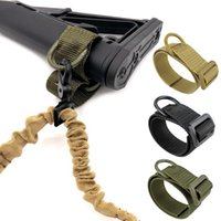 아바이 스포츠 서바이벌 전술 Buttstock 슬링 어댑터 소총 주식 총 스트랩 총 로프 달아서 벨트 사냥 액세서리