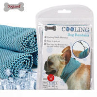 Instant Ice Cooling Dog Bandana Scarf for Pet small dogs Bul...