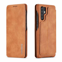 LC.IMEEKE Pour Huawei P30 P20 Pro Lite Nova 3e / 4e Téléphone Cas De Luxe Stand Portefeuille Flip Housse En Cuir Couverture avec Porte-Carte