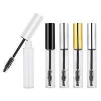 5Colors 10ml Empty Mascara Tube con Eyelash Wand Empty Mascara Container Bottle