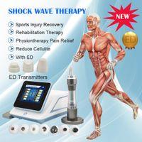 200 mJ TOCH máquina de ondas de choque dispositivo para tratamiento de disfunción eréctil ed / terapia de ondas de choque radial acústica con 7 transmisores