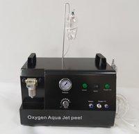 ارتفاع ضغط الأكسجين جيت قشر الوجه آلة الأكسجين الوجه الأكسجين حقن آلة العلاج الوجه لإزالة الصباغ العناية بالبشرة