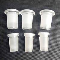 변환기 유리 다운 시스템 다운 스템 파이프 액세서리 어댑터 14mm 남성 14mm 여성 감속기 커넥터 애쉬 포수 봉지 물에 대 한 봉수 물
