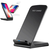 2 Coils Wireless Charger For iPhone 12 X 8 8 Plus Qi Wireles...