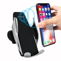 Automatic clamping wireless car charger receiver for iphone ...