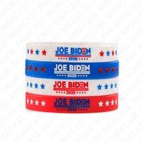 Joe Biden para D7211 Presidente pulseira de silicone pulseira de borracha pulseiras pulseira Pulseira 2020 EUA América Votação Accesseries baratos