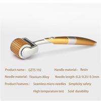 여드름 흉터 안티 에이징 스킨 케어 (192) dermaroller의 CE의 경우 ZGTS 192 티타늄 마이크로 바늘 치료 더마 롤러