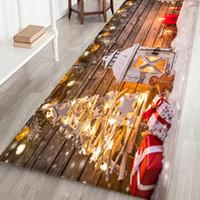 Neu! Neues Jahr Weihnachtsdekoration Willkommen Fußmatte Indoor Startseite Teppiche Dekor navidad kerst decoratie 40x120cm Weihnachten