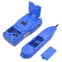 Freeshipping Blue Line Finder Telefono Telefono Tracker Diagnostica Tone Tool Kit LAN Network Cable Tester Cat5 Cat6 RJ45 UTP STP
