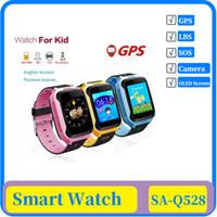 Q528 Y21 Touch Screen Kinder GPS-Uhr mit Kamera Beleuchtung Smart Watch Schlaf-Monitor GPS SOS Baby Watch PK Q50 Q750 Q100