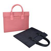 رقيقة وملساء الحد الأدنى الدفتري المحمول حقيبة حقيبة بطانة لشركة آبل MacBook هواوي الموالية 15.6 بوصة LOGO العرف