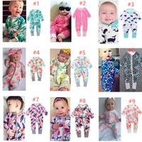 Free Shipping Baby Print Rompers 40+ Designs Boy Girls Cactu...