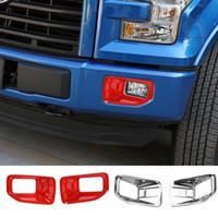 ABS Lampe antibrouillard avant Shade Couverture décorative pour Ford F150 2015 UP Car Styling Accessoires extérieurs