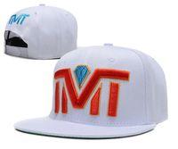 Moda Baseball Caps Snapback ajustável TMT Chapéus Mulheres Homem snapbacks Hip Hop Rua Caps TMT planas Chapéus