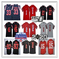 2020 NCAA Fiesta Bowl Ohio State Buckeyes Justin campos Jersey 2 Chase Young JK Dobbins Elliott Nick Griffin Bosa George Teague OSU 150º