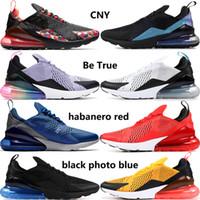 Ucuz 270S OG saltanat koşu ayakkabıları mor erkek gerçek 27c Filipinler siyah fotoğraf mavi tozlu kaktüs erkekler kadınların stilisti SNEAKERS eğitmenler olmak