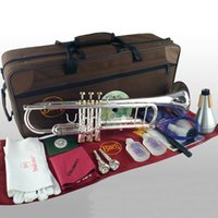 Bach Bb Trumpet LR190S- 65 Silver Plated Gold Keys Music Inst...
