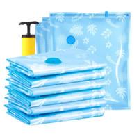 11 unids Bolsas de vacío para la ropa Vaccum Sealer Bag zakken vacío kleding Sous Vide Vetement Closet Organizador de almacenamiento en el hogar