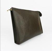 جديد السفر أدوات الزينة الحقيبة 26 سم حماية ماكياج مخلب النساء جلد طبيعي للماء 19 سم حقائب التجميل للنساء 47542