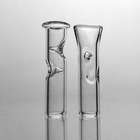 7mm OD Mini Dicas De Filtro De Vidro para Tabaco de Erva Seca Tabaco Mortalhas de Fumar Grosso Pyrex Tubos De Fumo De Vidro Barato Suporte De Cigarro De Tabaco De Vidro