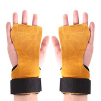1 Par Fitness Safty Pad Antideslizante Anti-herrumbre Apretones de mano Pad Protección de muñeca Soporte de muñeca Guantes de entrenamiento Accesorios Nuevo