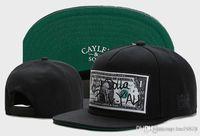 Cayler Sons Dolla Bill YAN Baseball Caps Casquettes Chapeu Pressão para trás Hip Hop gorras ossos homens Gorras Snapback