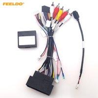 Feeldo Car 16pin Cablaggio Android Cablaggio USB Cavo USB con Canbus per Jeep Cherokee 15 ~ 19 / Bussola 2017 + / Wrangler / Renegade / Fiat 500 # 6517