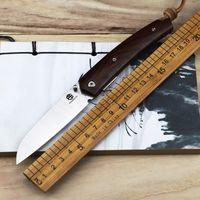 Sandvik 12C27 Holzgriff Outdoor Klappwerkzeug Selbstverteidigung Hohe Härte Stahl Sharp Camp Überleben Werkzeug EDC Kleines Werkzeug