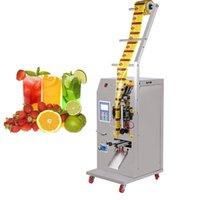 200g 500 g ticari sıvı paketleme makinesi baharat su-yağ sirke içecek saf sıvı dolum yapıştırma makinesi paketleme makinası
