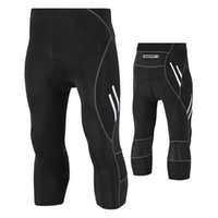 Men' s sports outdoor quick- drying cycling riding croppe...