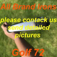 2020 neue Golfeisen Alle Markeneisen mit Stahlwelle / KBs Graphitwelle / Tour-Anzeige-Graphitwelle Golfclubs