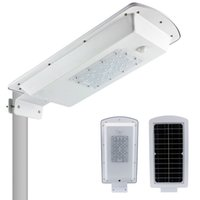 Solar LED Street Light 10W impermeabile illuminazione esterna PIR Motion Sensor Auto On / Off al crepuscolo e alba